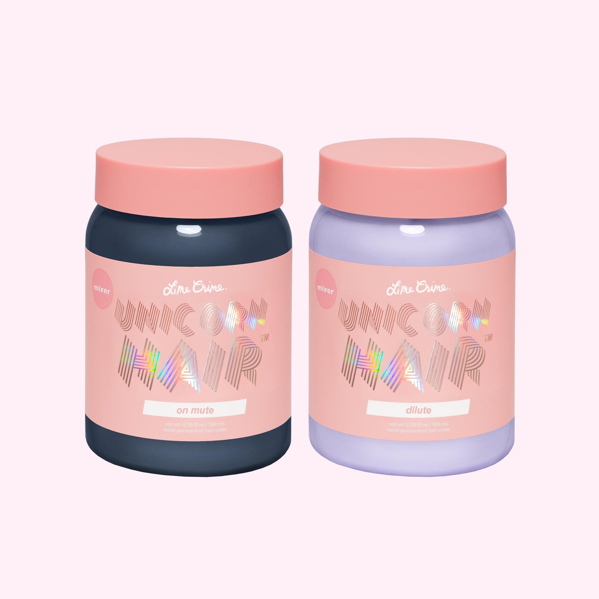 Unicorn Hair Color Mixers