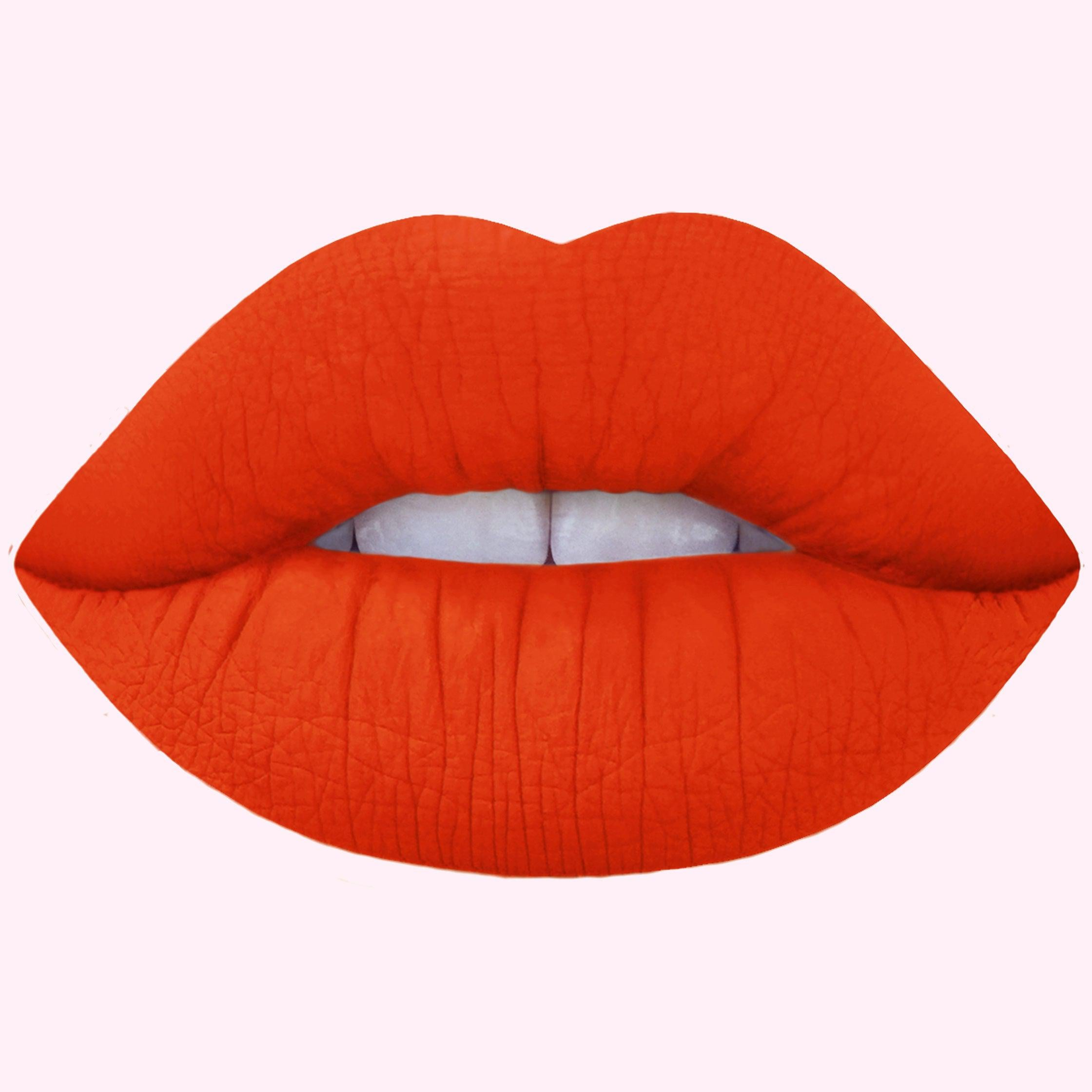 Lime Crime : Psycho Matte Lipstick in Blazing Orange