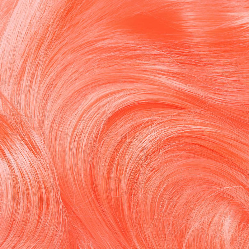 Neon Peach Hair Color