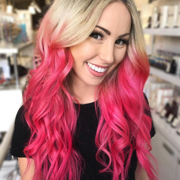 Strawberry Jam Hair Color