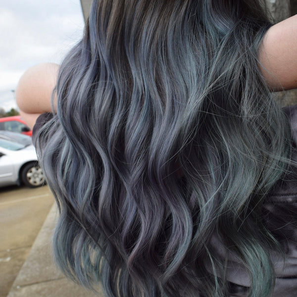 Charcoal Hair Color