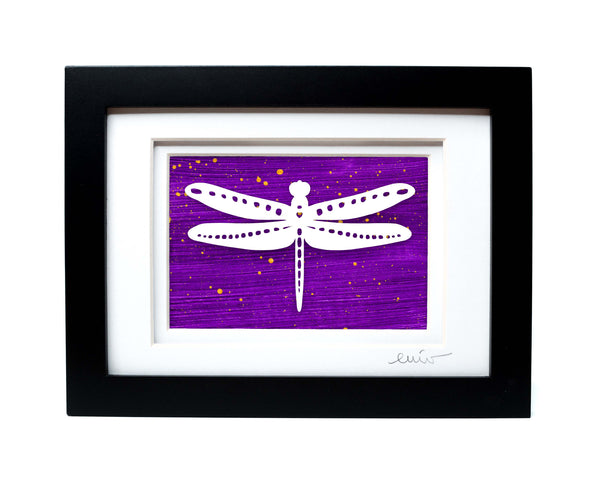 Dragonfly Papercut