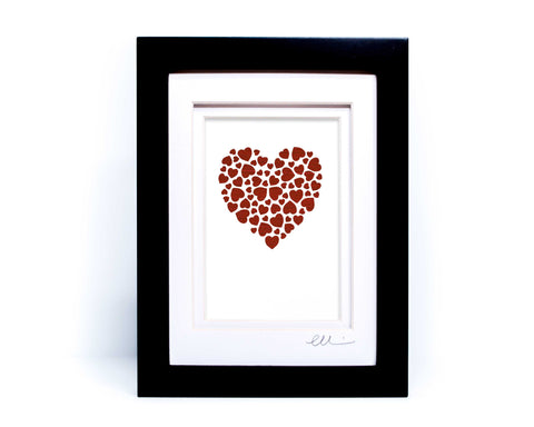 Heart of Hearts Papercut