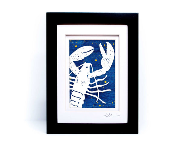 Lobster Papercut
