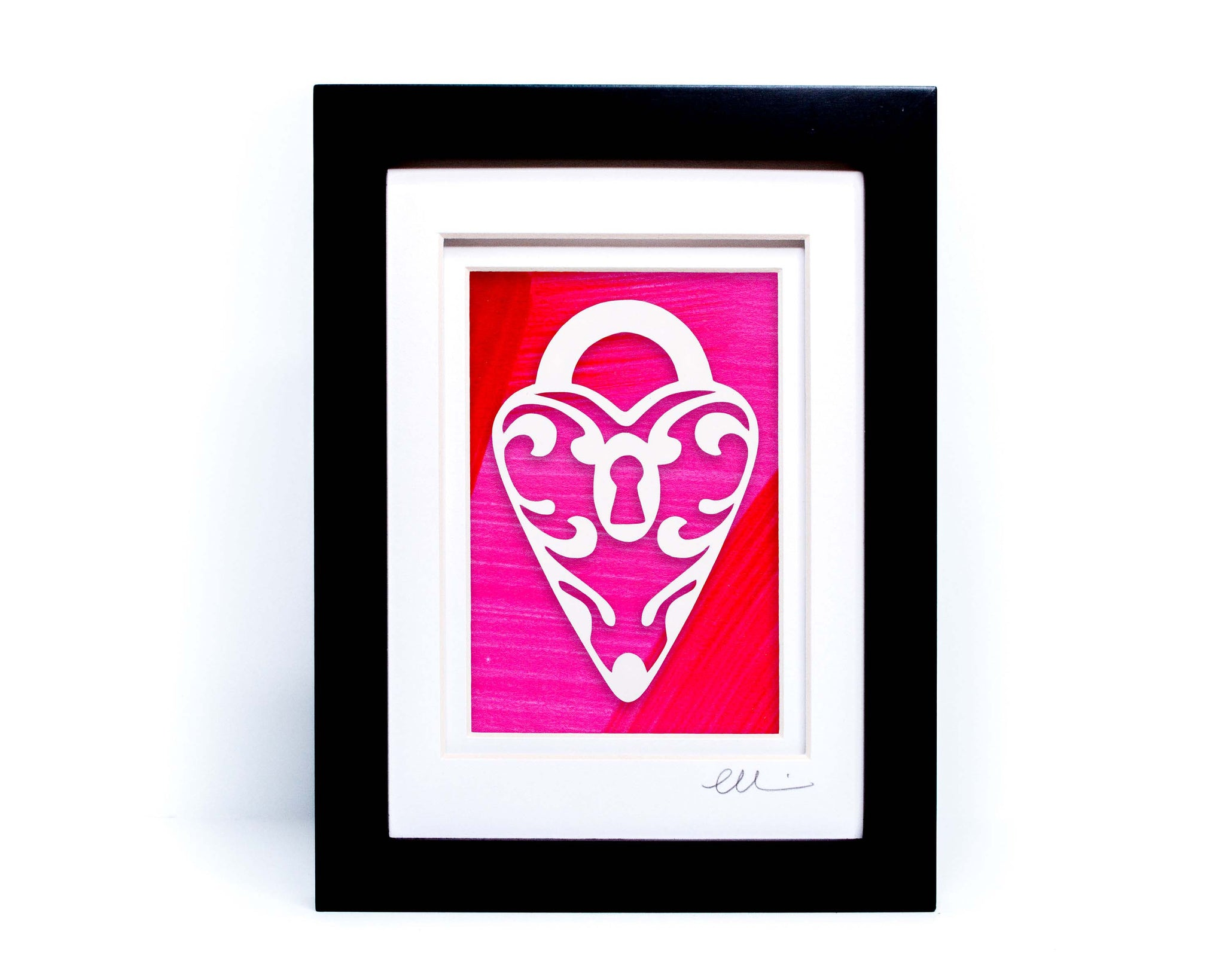 Heart Locket Paper Cut
