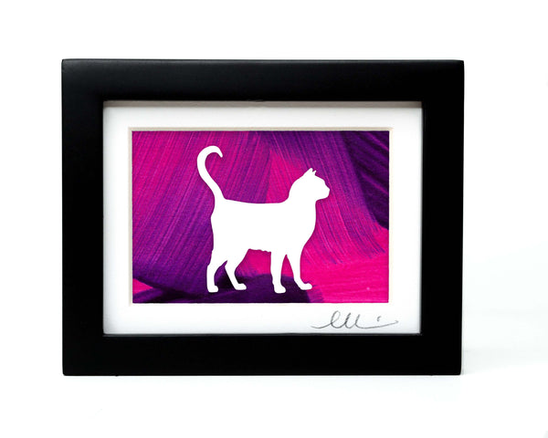 Shorthair Cat Papercut