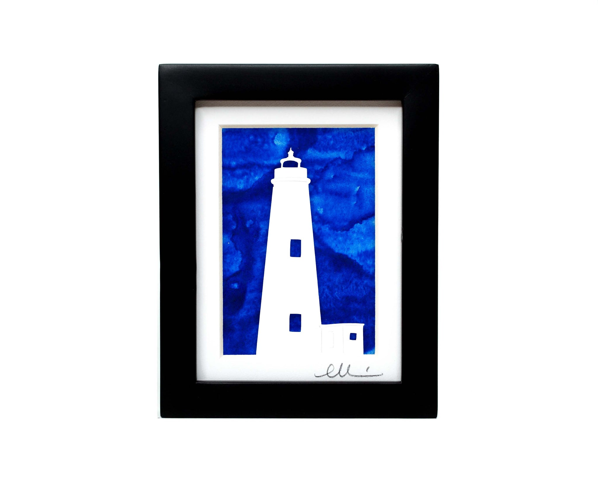 Lighthouse Papercut