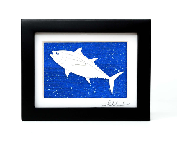 Tuna Fish Papercut