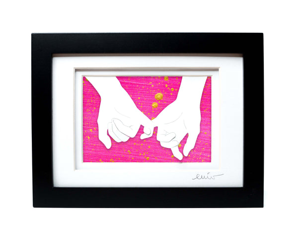 Pinky Promise Papercut