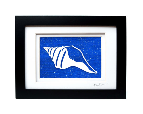 Conch Shell Papercut