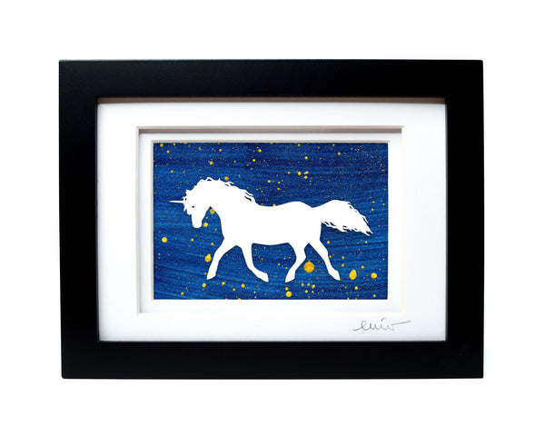 Unicorn Papercut