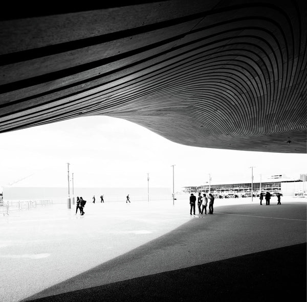 Aquatics Centre by Zaha Hadid