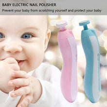 Load image into Gallery viewer, Baby nail trimmer set- Electric Baby Nail Clipper for Newborn