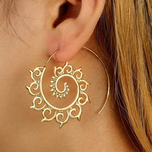 Load image into Gallery viewer, Mandala Wave Earrings