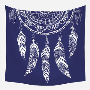 Royal Blue Dream Catcher