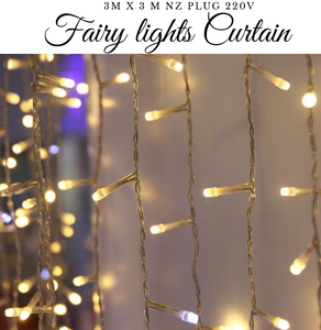 Fairy Lights Curtain 3mx3m and 3mx 6m 300LED