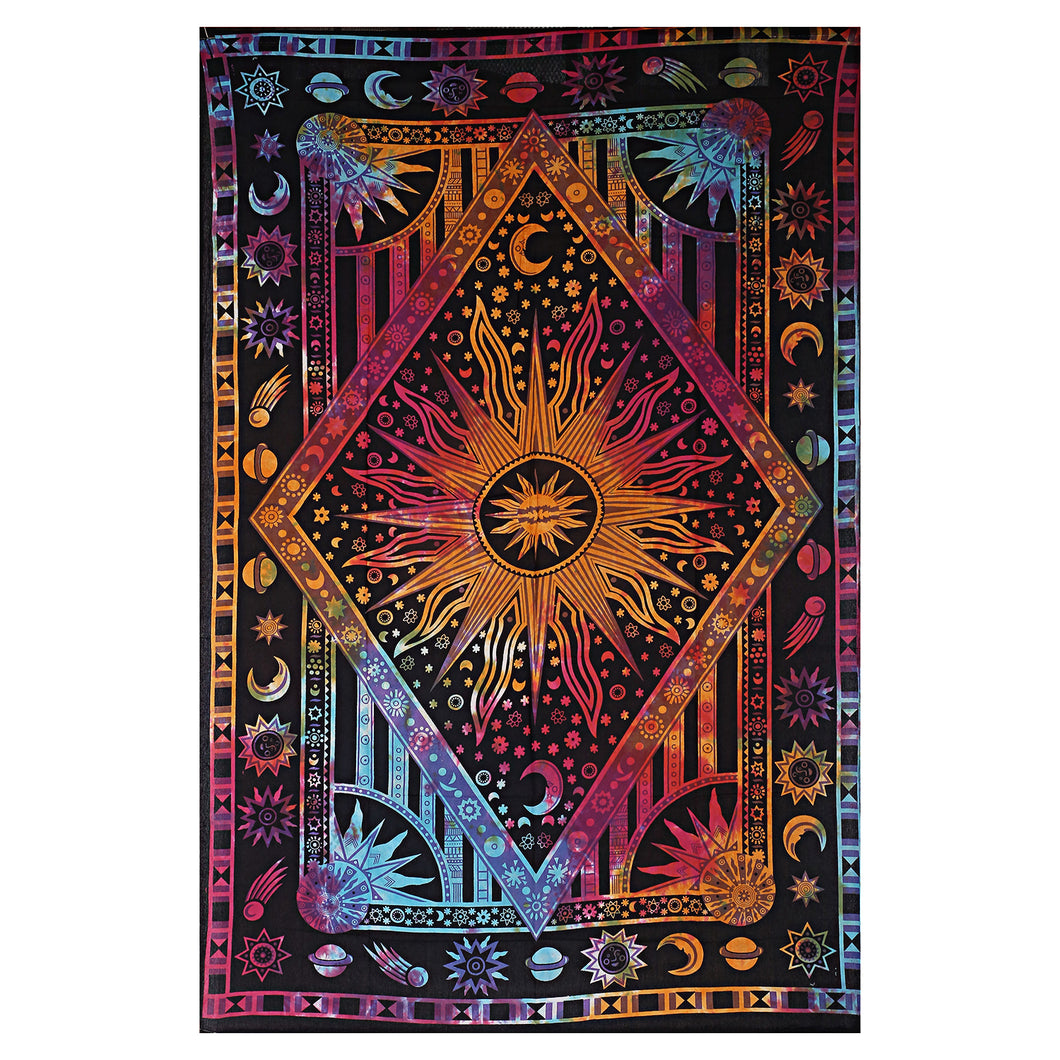 Aztec Star Tapestry