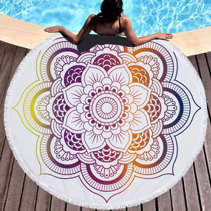 Refraction Beach Towel