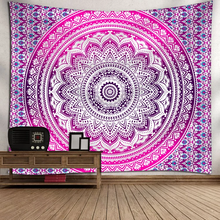 Load image into Gallery viewer, Bright Mandala Tapestry