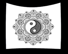Load image into Gallery viewer, Yin and Yang Manadala Tapestry