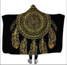 Load image into Gallery viewer, Dream Catcher Hooded Blanket