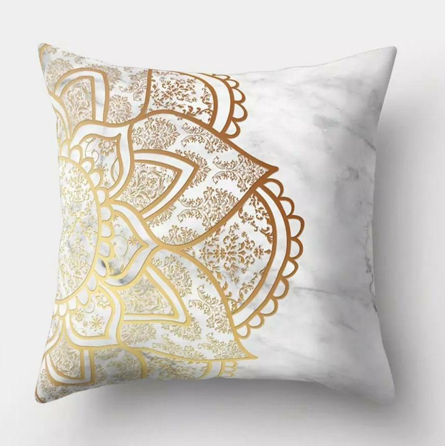 Marble Mandala Pillow Cover (2 pair)