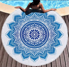 Load image into Gallery viewer, Lotus Beach Towel