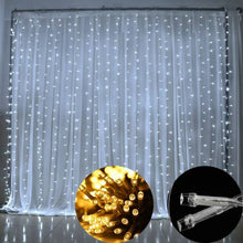 Load image into Gallery viewer, Fairy Lights Curtain 3mx3m and 3mx 6m 300LED