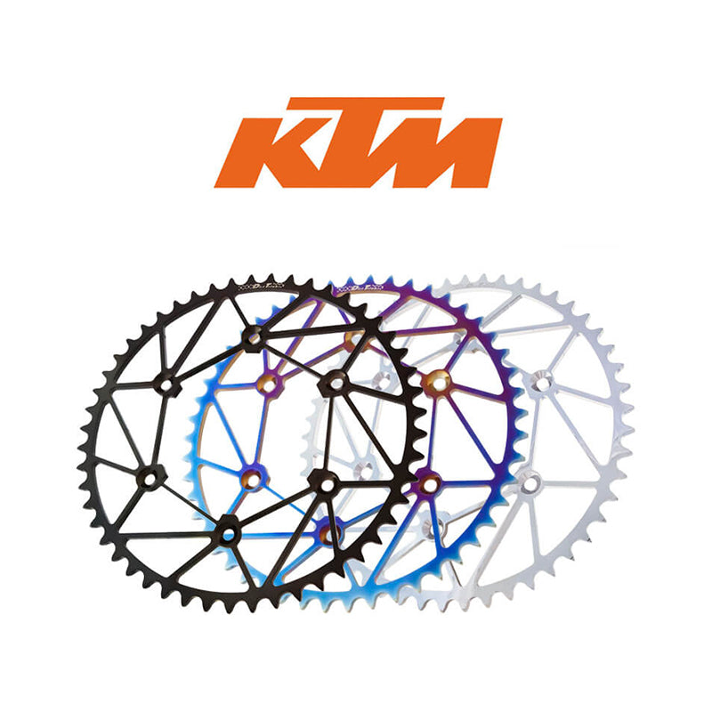 Chrome Rear Sprockets - KTM