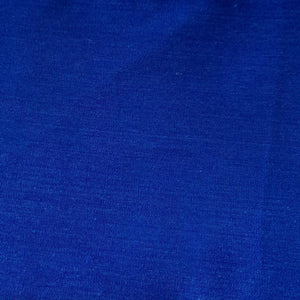 Royal blue cotton linen - fabric for embroidery, sewing and crafts