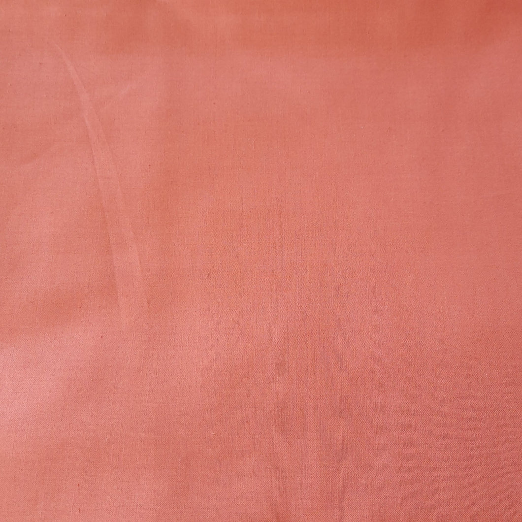 Dusty rose cotton linen - fabric for embroidery, sewing and crafts