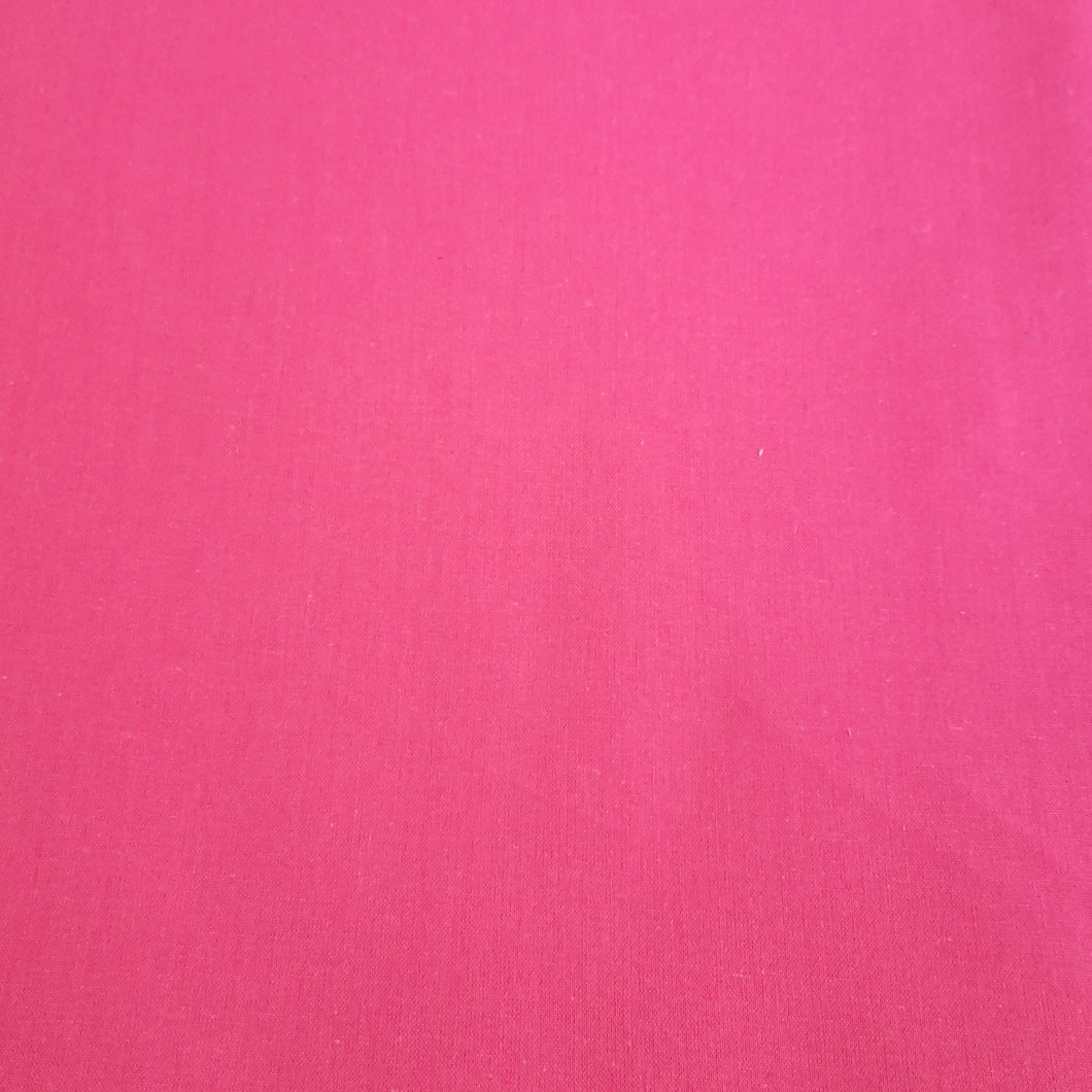 Pink cotton linen - fabric for embroidery, sewing and crafts