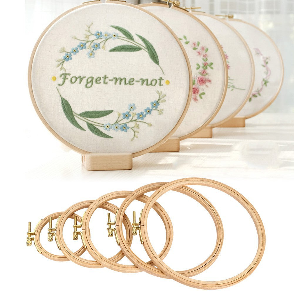 Bamboo embroidery hoop