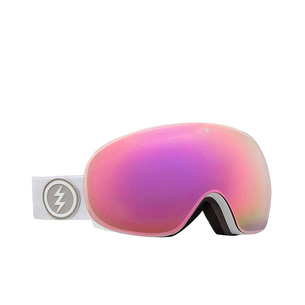 Antiparras Electric - Eg3.5 - Matte White - Pink Chrome - Bonus Lens