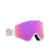 Antiparras Electric - Kleveland - Matte White - Pink Chrome - Bonus Lens