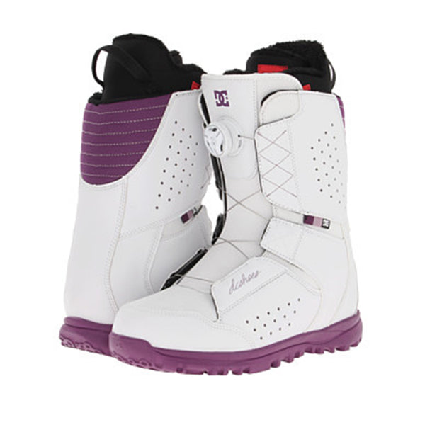 Botas de Snowboard DC - Search Boa White