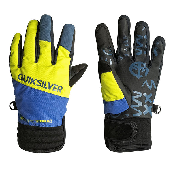 Guantes Quiksilver - Method yellow/blue Glove