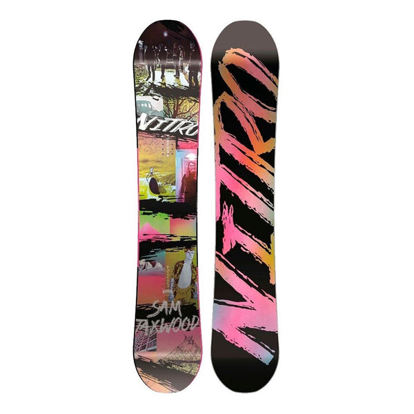 Tabla de Snowboard Nitro - Sam taxwood