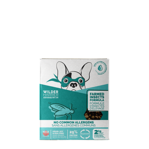 Sustainable Dog Food with No Common Allergens