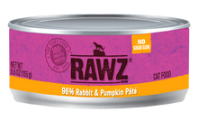 Load image into Gallery viewer, Rawz 95% Meat Pâté Cat Cans
