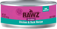 Load image into Gallery viewer, RAWZ Shredded Cat Cans