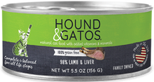 Load image into Gallery viewer, Hounds and Gatos Cat Cans
