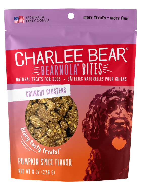 Bearnola Bites (8oz) Natural Treats for Dogs