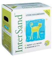 Intersand Unscented Clumping Litter 15KG box