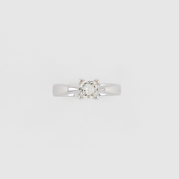14KT White Gold 0.75CT Diamond Engagement Ring