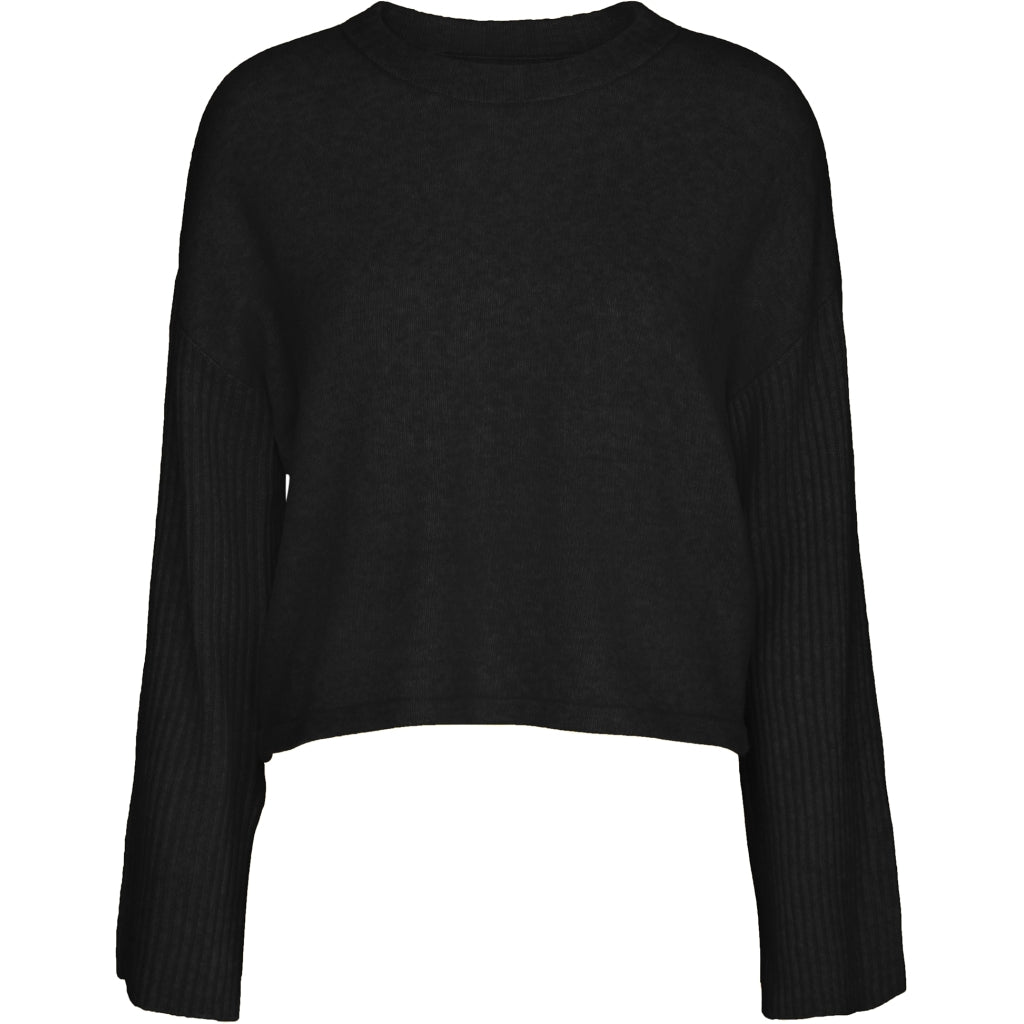 Desires Anemone Knit Pullover 9000 BLACK