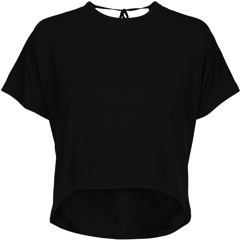 Desires Fiola Top T-Shirt 9000 BLACK