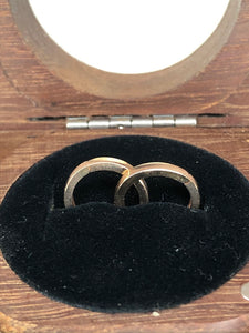 9ct Rose Gold Huggies