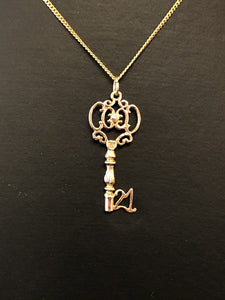9ct Yellow Gold 21st Key Charm
