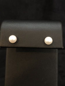 Sterling Silver Freshwater Pearl 10mm Studs